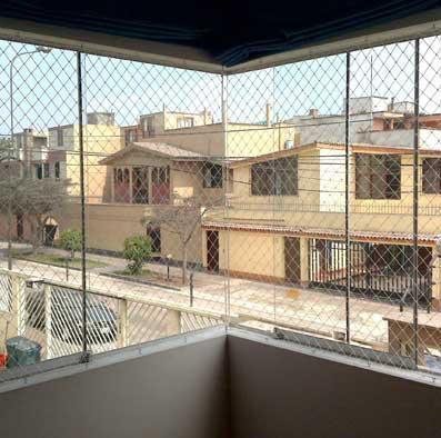 Kodomo:Redes de seguridad para ventanas, balcones, escaleras