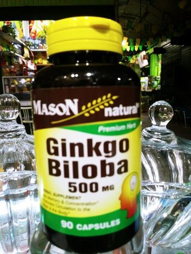 Mason Ginkgo Biloba