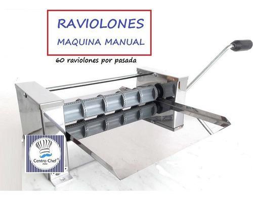 Panzotti/raviolon Maquina Manual Profesional Centrochefperu