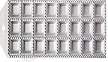 Raviolera Aluminio Inoxidable 24 Unidades Venta Nueva