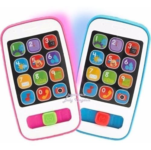 Fisher Price Smartphone Telefono Celular Aprendizaje Bebes