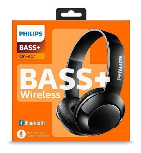 Audifono C/microf. Philips Shb3075bk Black Bluetooth