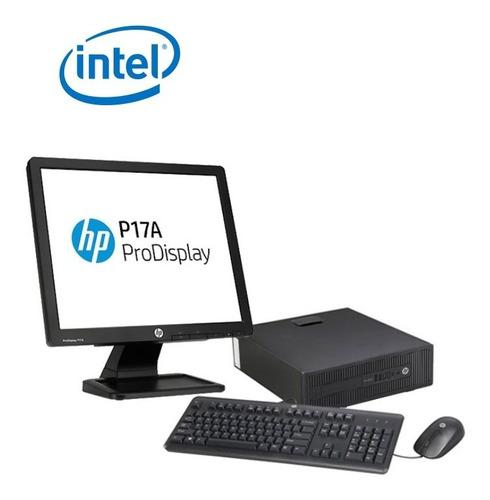 Computadora Completa Hp Core I3 4ta Led 20,7 Kit Microsoft