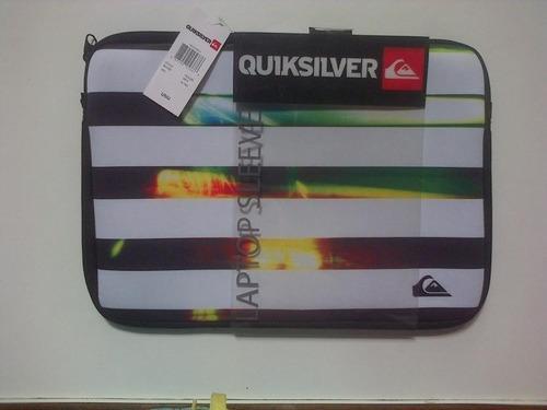 Funda Laptop Quiksilver 100 % Originales 37 Cm X 24.5 Cm