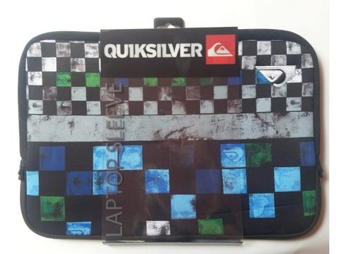 Funda Porta Laptop Quiksilver 100% Originales 37 X 24.5 Cm