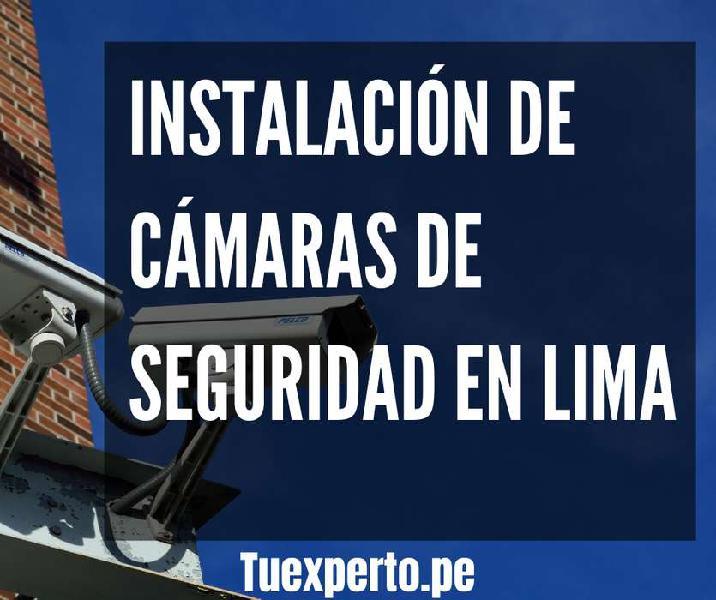 Instalación venta y servicios de cámaras de seguridad en