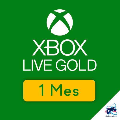 Membresía Xbox Live Gold 1 Mes Para Xbox One - Xbox 360