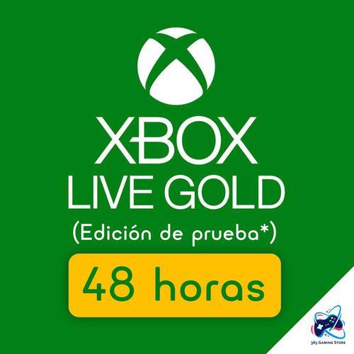 Membresía Xbox Live Gold 48 Horas Para Xbox One - Xbox 360