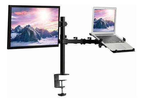 Rack Soporte De Escritorio Para Laptop Y Monitor - Montech