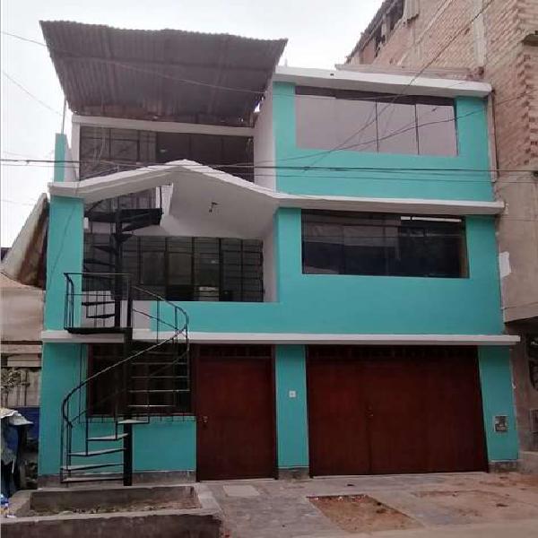 Remato Casa 3 Pisos - Área 90m2 - San Juan De Lurigancho