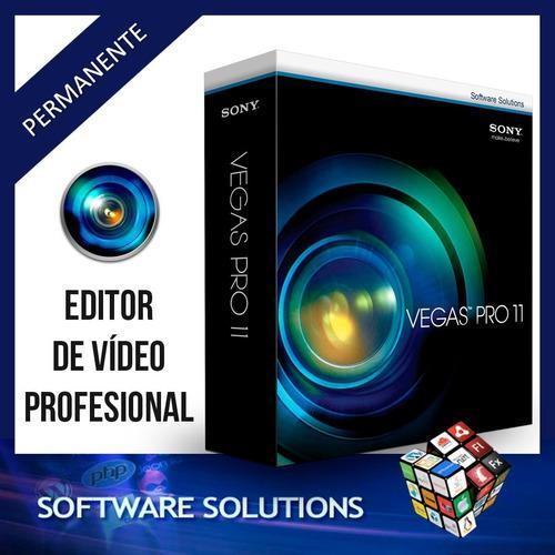 Sony Vegas Pro 11 Para 32 Y 64 Bits - Editor De Videos