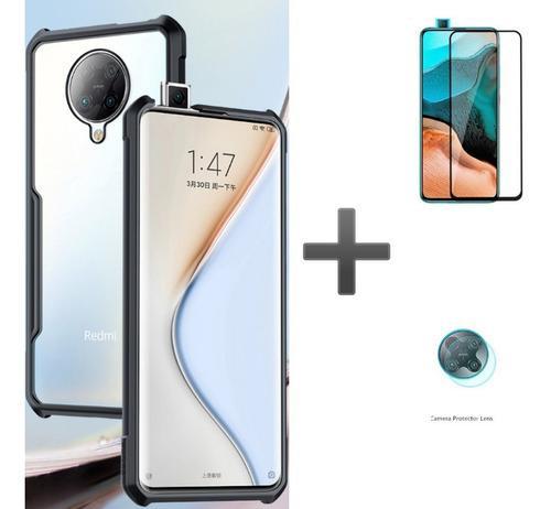 Case Xundd Xiaomi Poco F2 Pro + Vidrio Grueso + Vidrio Camar