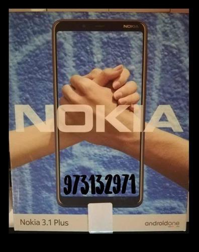 Nokia 3.1 Plus Nuevo En Caja Con Accesorios
