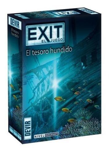 Juego De Mesa Exit 7 El Tesoro Hundido Devir Original