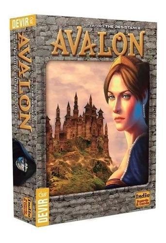 Juego De Mesa La Resistencia Avalon Original Nuevo Sellado