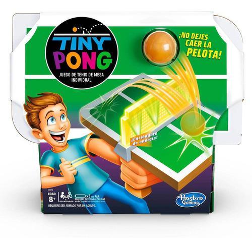 Tiny Pong - Juego De Mesa - Hasbro (juego De Mesa)