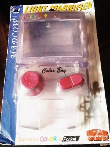 Game Boy Color Pack Lupa + Luz + Joystick Nuevo