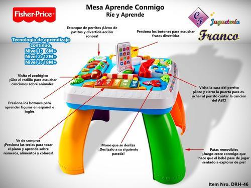 Mesa De Aprendizaje Fisher Price Fisher Price - Original