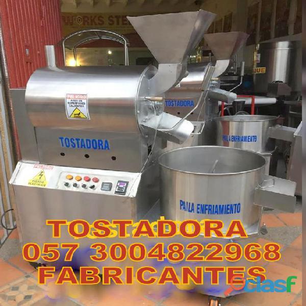 TOSTADORA DE ALMENDRAS Y GRANOS