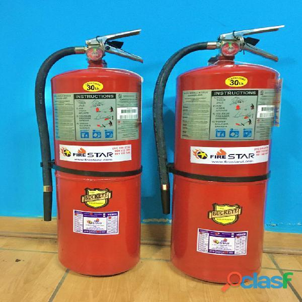 Venta de Extintores Americanos con Certificacion UL