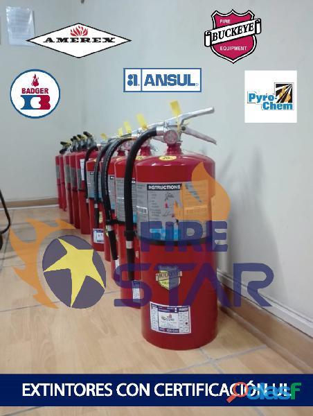 Venta y Recarga de Extintores en Ventanilla Firestar