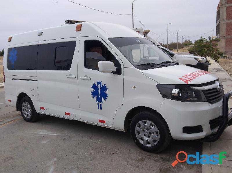 Venta de Ambulancia 2020