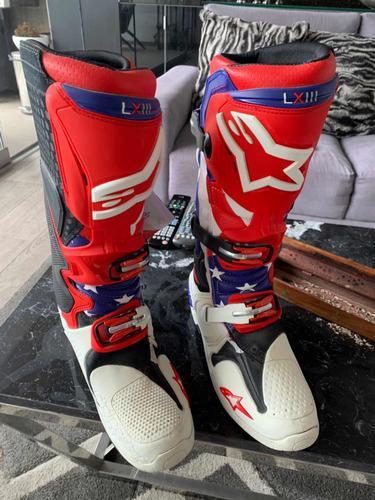 Botas Alpinestar Tech 10 Us 9 - Botas De Motociclismo Enduro