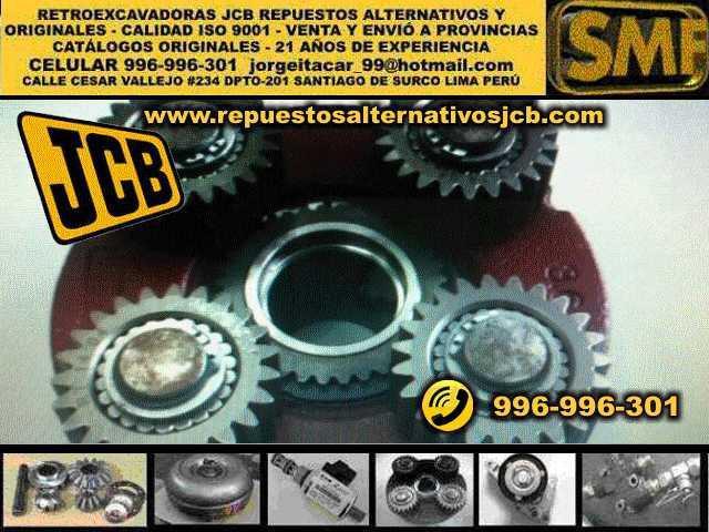 Retroexcavadora JCB maquinaria pesada repuestos Lima Peru en