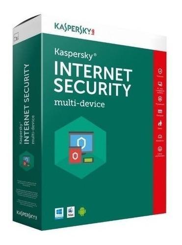 Antivirus Kaspersky Internet Security 1 Dispositivo 1 Año