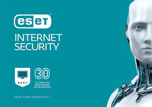 Eset Internet Security 1 Pc 1 Año Original No Vence En