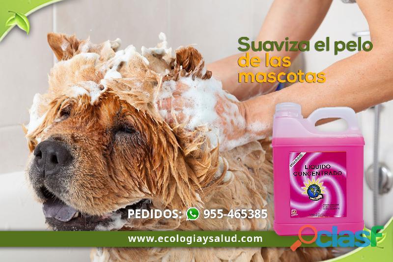 Jabon ecologico para mascotas