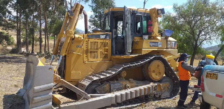 Tractor sobre orugas caterpillar D6T