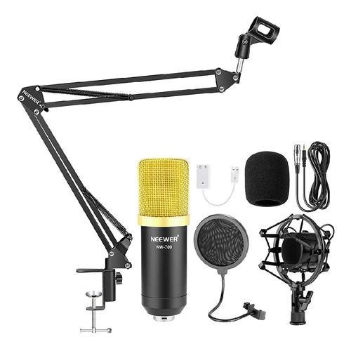 Microfono Condesador Kit Newer700