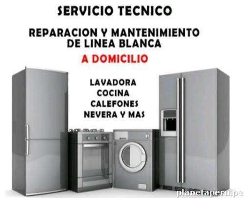 Servicio tecnico de lavadoras y refrigeradoras a domicilio