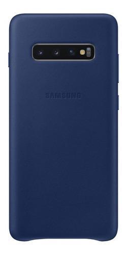 Case De Cuero Genuino Galaxy S10 Y Plus Leather Cover