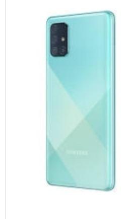 Samsung A71 De 128gb Con 6 De Ram Libre De Fabrica