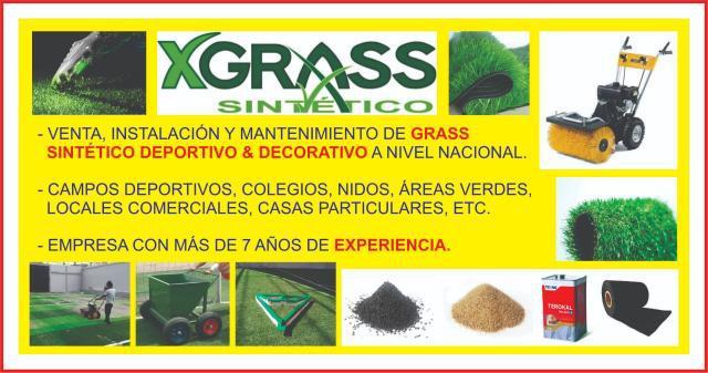 VENTA E INSTALACIÓN DE GRASS SINTÉTICO en Huancayo