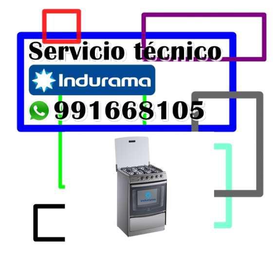 991668105 servicio tecnico indurama cocinas lima
