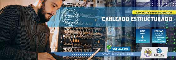 Curso de especialización de cableado estructurado 2020 en