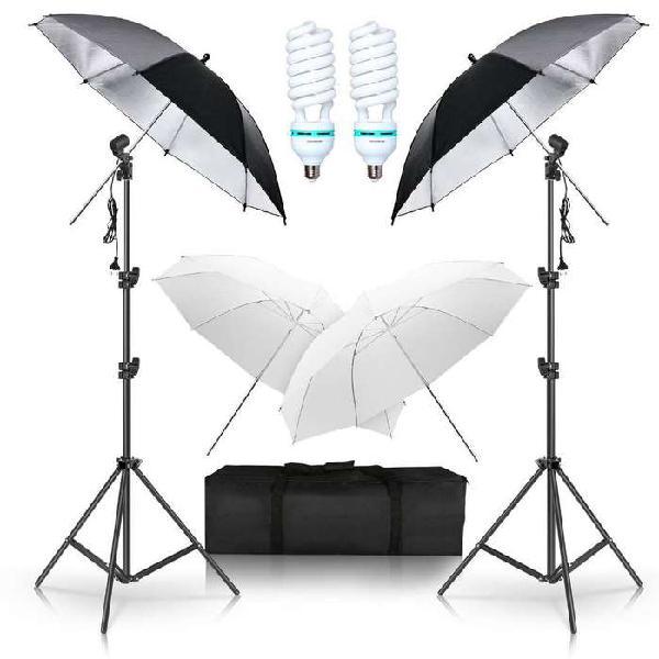 Kit De Iluminación Fotográfica / Luces Fotografía /