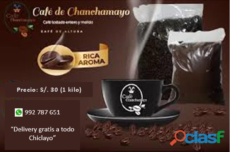 Café orgánico de Chanchamayo
