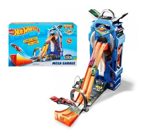 Hot Wheels City Mega Garage Giratorio Mattel
