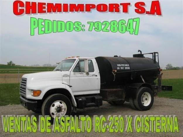 venta de asfalto rc 250 emulsion catonica rapida y lenta