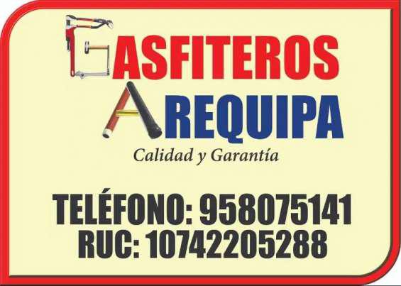 Gasfiteros arequipa. tel 958075141 en Arequipa