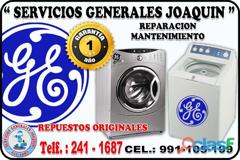Servicio tecnico GENERAL ELECTRIC lavadoras, secadoras 991