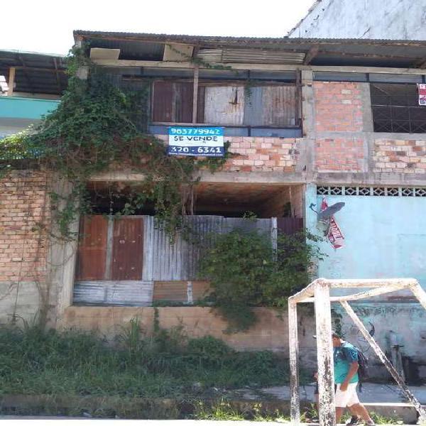 Venta de casa de dos pisos en Belen - Loreto