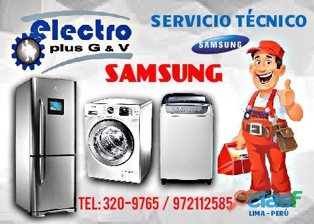 servicio asesor, servicio tecnico de refrigeradoras samsung,