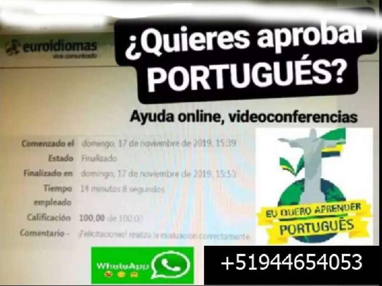 Asesoría en Portugués - a Nivel Nacional de forma escrita