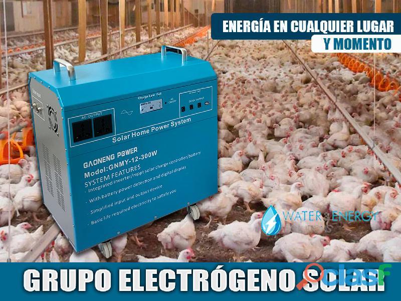 EQUIPOS DE ENERGIA SOLAR PARA GRANJAS
