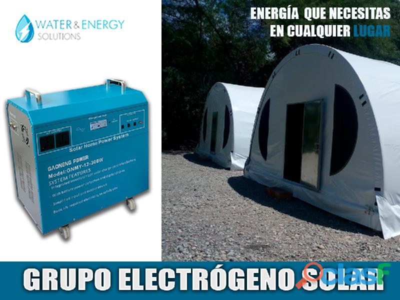 GENERADORES DE ENERGIA SOLAR PARA MINAS